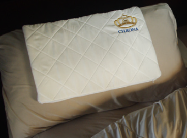 Chrona slips in your pillow to size up your sleep