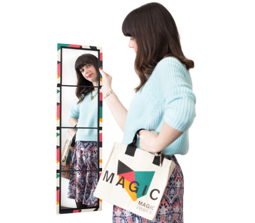 Magic Mirror Provides A Full Length View On The Go Won T