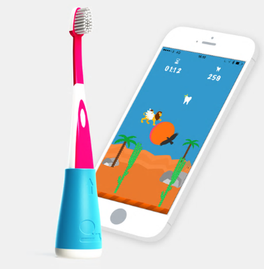 Playbrush uses interactive gaming to get kids to brush their teeth
