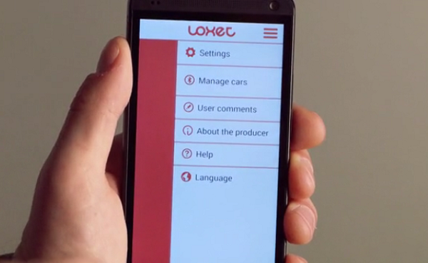 Loxet locks up the car based on your proximity to it