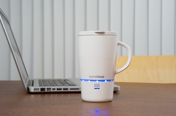 Nano Heated Wireless Mug keeps it hotter for longer