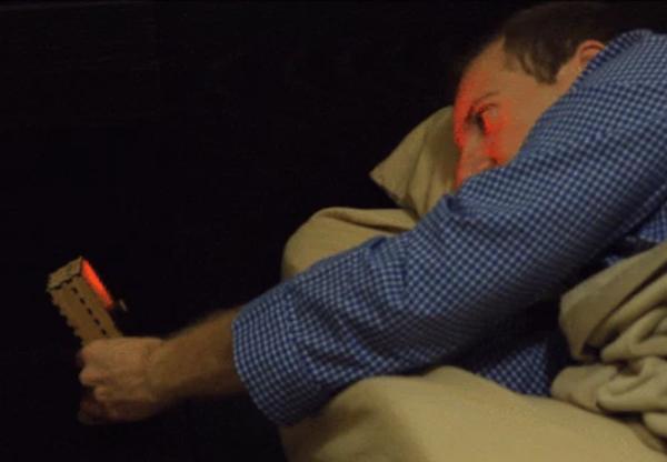 Sleep Sensei lulls you to sleep with fun lights, calm breathing patterns