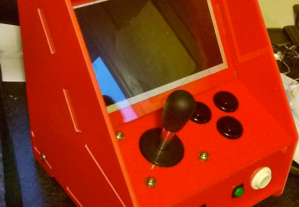 Play the specters of gaming past with the Spectrocade Raspberry Pi mini-arcade cabinet