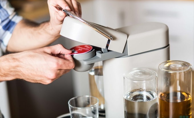 Bartesian cocktail mixer is a Keurig that swears it doesn't have a drinking problem