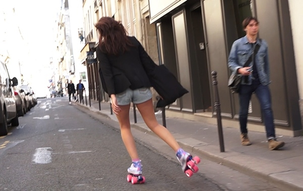 On Wheelz fuses shoes and skates, makes crowded streets a roller derby