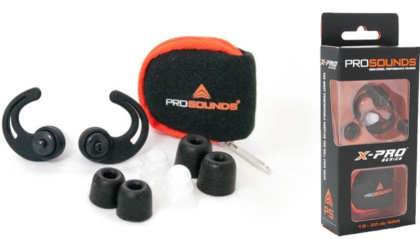 ProSounds X-Pro earplugs give noise the silent treatment