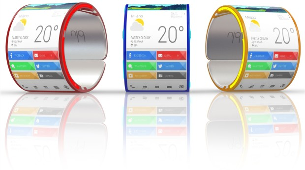 Back to the Backers: Blu wearable smartphone