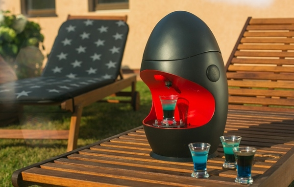 Eazyshot dispenser keeps the good times simply flowing