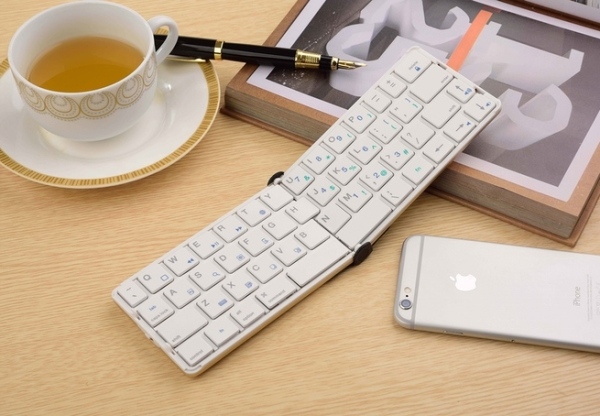 FlyShark 2 folding keyboard offers big returns (and backspaces and tabs)