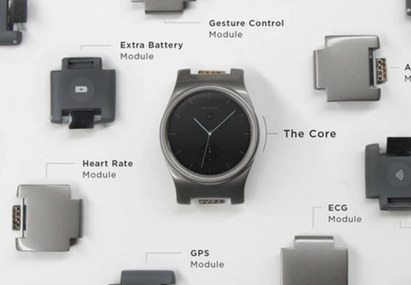 This modular smartwatch and band will make you the coolest kid on the Blocks