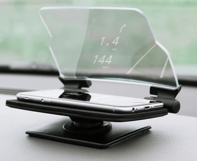 Hudway offers a simple cheap way to look into the future of driving displays