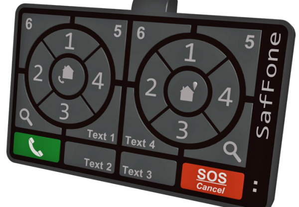 SafFone was designed to keep drivers safe while making phone calls