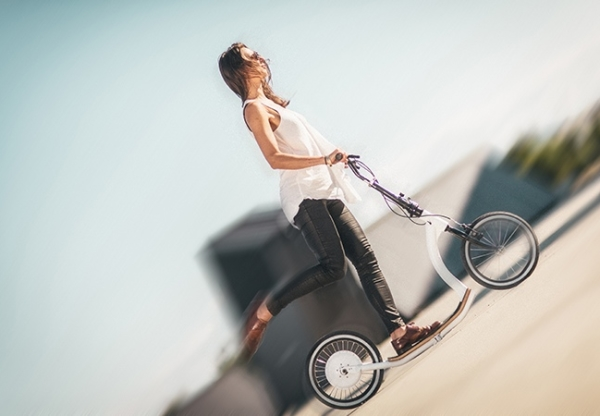 Smart Ped kick bike assists riders to travel farther, faster