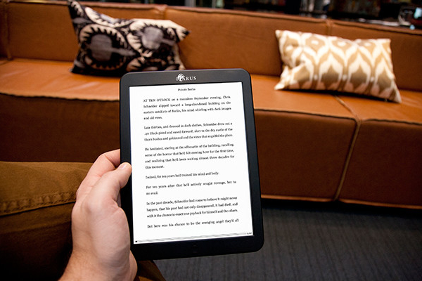 Illumina XL seeks to light up the e-reader market with greater variety
