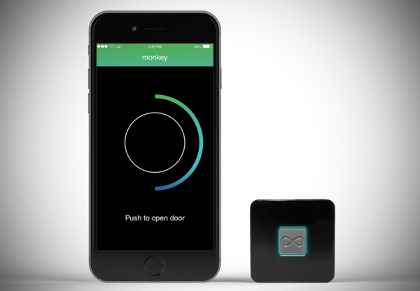 With a smart lock, Monkey lets one key replace all others
