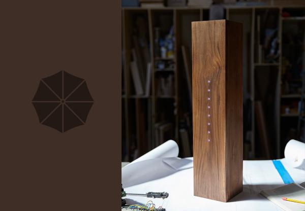 Raincheck's smart, artful design puts other umbrella stands in check