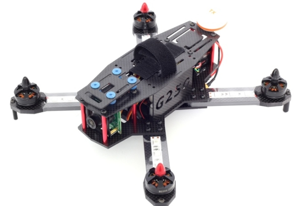 The Gravitron v2 lets you experience drone races at 50 mph