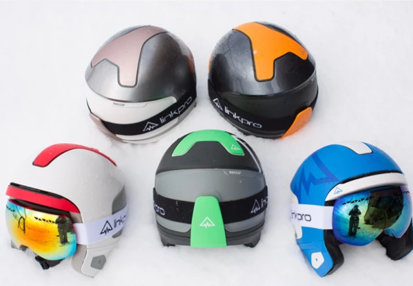 Talk smack while shredding slopes in the Explore1 winter sport helmet