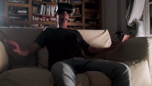 Immersit VR accessory rocks your world, starting with your couch