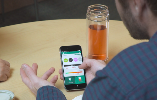The connected Teplo bottle does away with tepid tasting teas