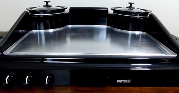 Turn your home into a mini-Benihana with Partyaki