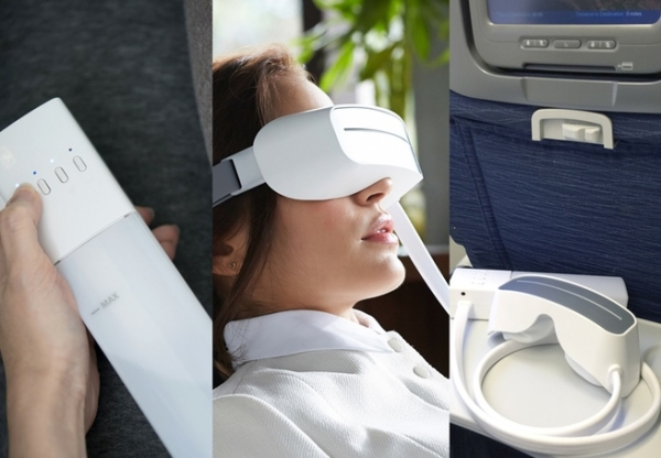 Your eyes feel alright with the Aurai massaging system