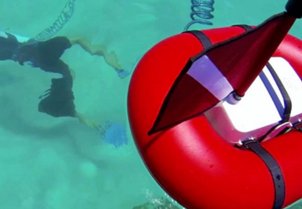 AirBuddy makes diving experience a tankless job
