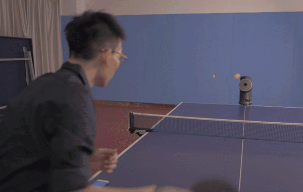 Trainerbot could take your ping pong to Forrrest Gump levels