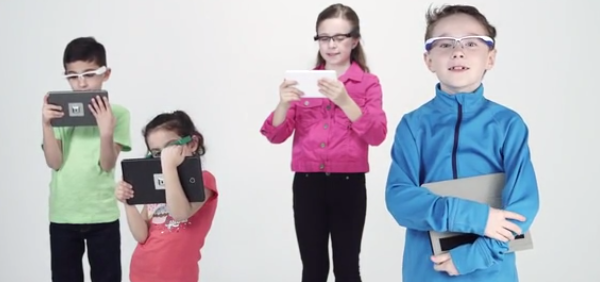 EyeForcer forces your kids to have better posture while using mobile devices