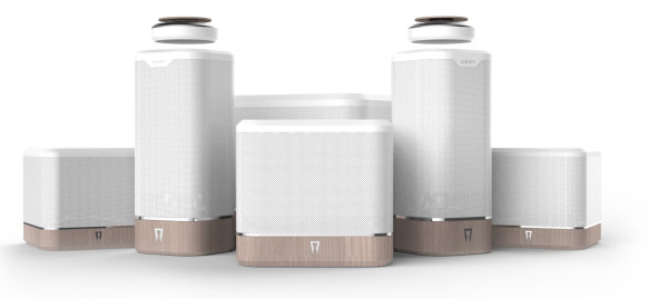 Spaco compact speakers save space and work via voice control